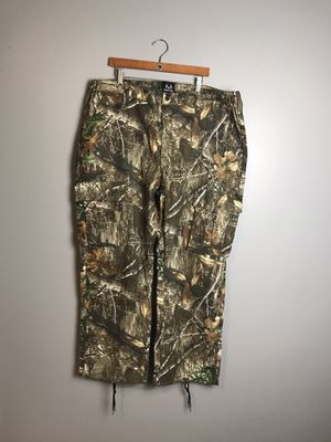 Scent Blocker Men's Cotton 6 Pocket Pant Realtree EDGE W/ Drawstring Ankle Adjustment for Sale in Adrian, WV