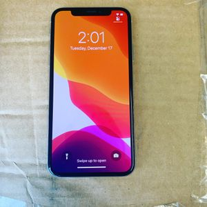iPhone X Sim Factory Unlocked 256gb like new for Sale in Orlando, FL