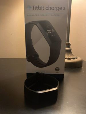 Fitbit Charge 3 for Sale in Watertown, CT