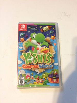 Nintendo switch yoshis crafted world for Sale in Plantation, FL