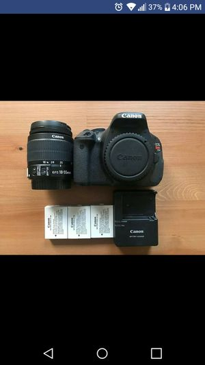 CANON T3I DIGITAL SLR CAMERA BUNDLE!! for Sale in Euclid, OH