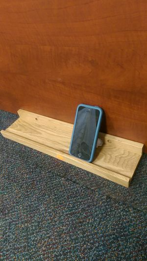 Small wooden shelf for phone charging for Sale in Riverside, CA