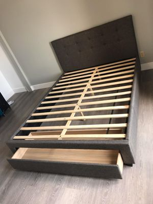 Queen bed with storage for Sale in Phoenix, AZ