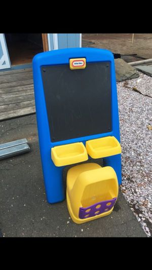 Kids chalkboard and chair for Sale in Plainville, CT