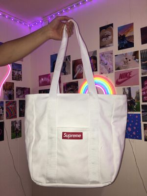 Supreme canvas tote bag for Sale in Lacey, WA