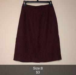 Red/black Skirt for Sale in Wichita,  KS