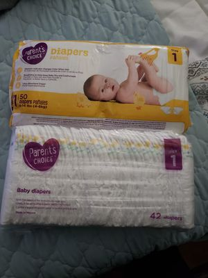 Parents Choice Size 1 Diapers for Sale in Moreno Valley, CA
