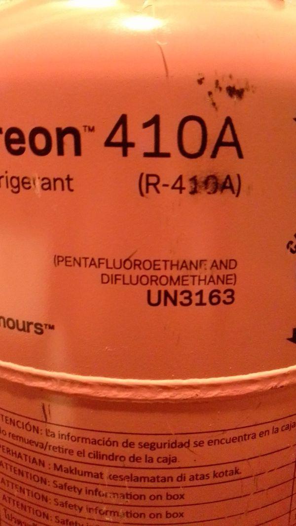 Freon 410A (R-410A) Refrigerent