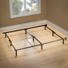 King size metal Bed Frame for Sale in West Islip, NY
