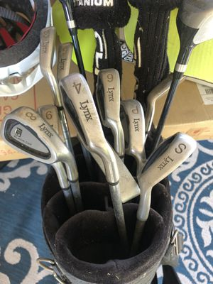 Lynx full set golf clubs for Sale in Whittier, CA