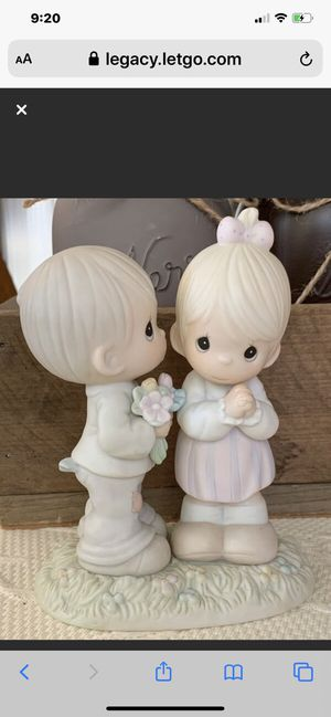 "Precious Moment Porcelain 1989 ""Love Is From Above"" Figurine for Sale in Danville, CA"