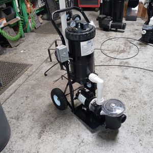 Mini Portable Fountain Vacuum System for Sale in Tustin, CA