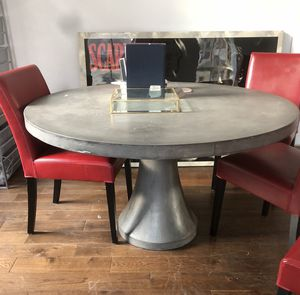 Crate and Barrel Dining Table (Cement/Concrete) for Sale in New York, NY