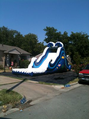 Waterslide, Bounce House, Tables and Chairs Rental for Sale in Carrollton, TX