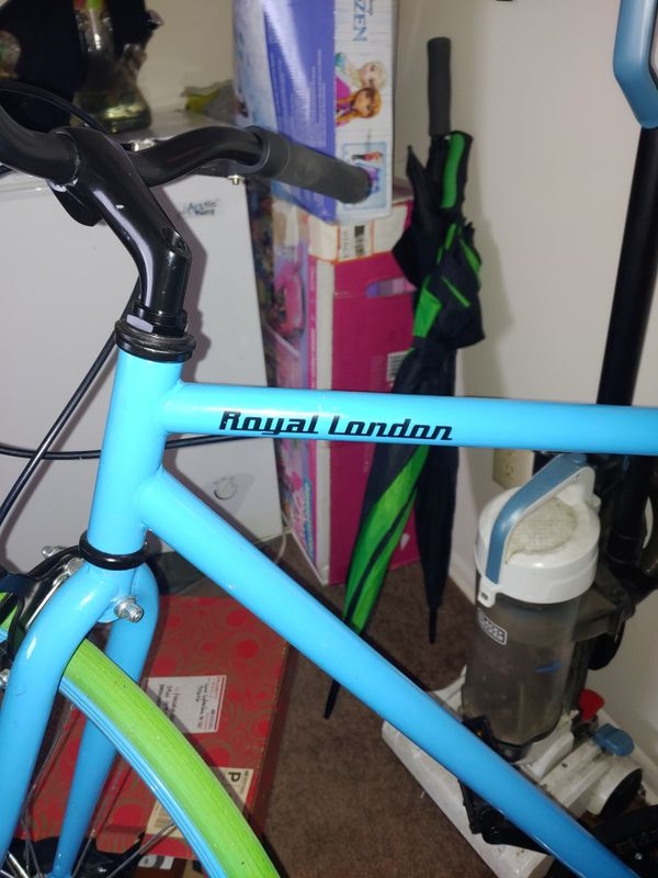 Rare color royal London bike