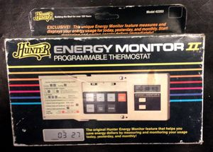 Hunter Programable Thermostat for Sale in Denver, CO