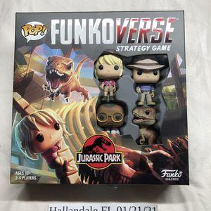 Funko Pop! Funkoverse: Jurassic Park Strategy Game **Brand New** for Sale in Miami, FL