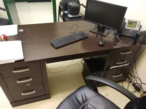 Solid Wood Desk for Sale in Virginia Beach, VA