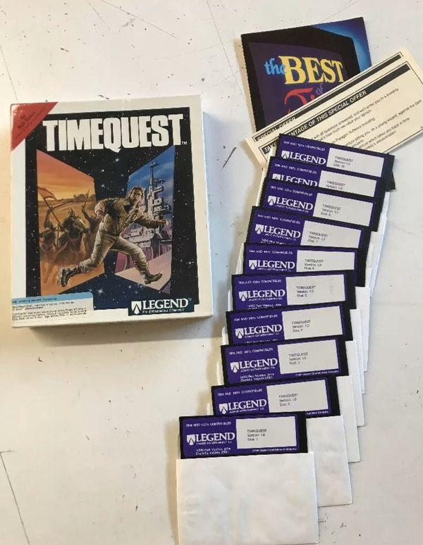 TimeQuest Big Box PC Game