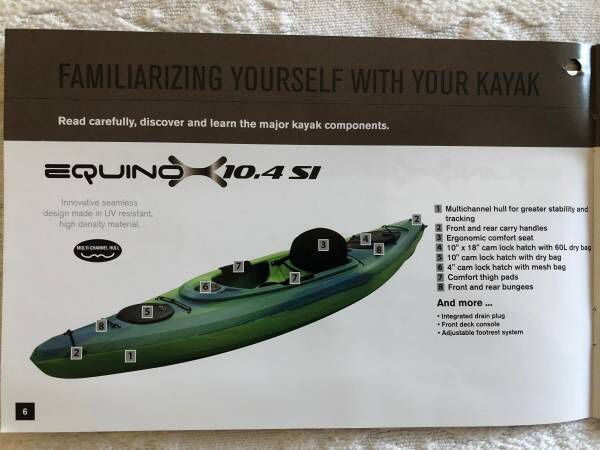 Equinox 10 4 SI Kayak for Sale in Houston, TX - OfferUp