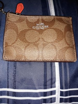 Coach keychain wallet for Sale in Taunton, MA