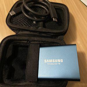 Samsung T5 External SSD 250GB for Sale in Phoenix, AZ