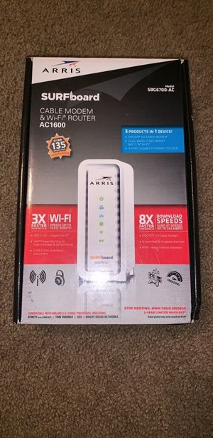 Cable modem and WiFi router for Sale in Port Richey, FL
