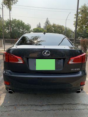 2011 Lexus IS250 for Sale in Fresno, CA