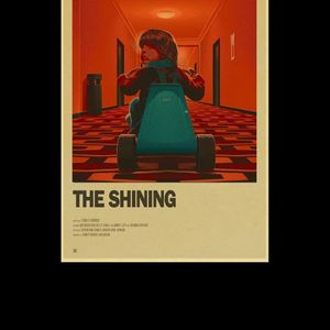 Vintage Classic Movie TV Show E.T/Pulp Fiction/The shining/Friends Retro Posters Modern Art Poster For Room/Bar Decor for Sale in New Britain, CT