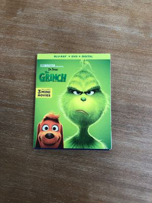 Grinch Blu-Ray + DVD for Sale in Chula Vista, CA
