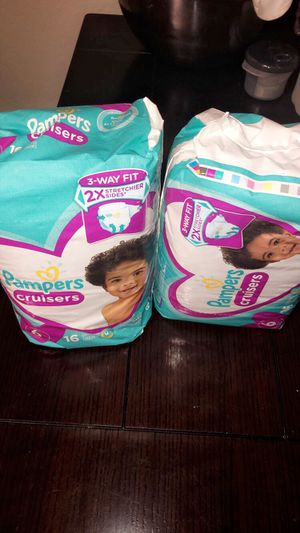 Diapers size 6 for Sale in Orlando, FL