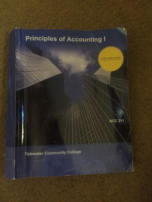 Principals of accounting for Sale in Virginia Beach, VA