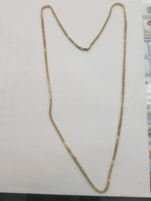 14k Yellow real gold 24 inches franco chain for Sale in Los Angeles, CA