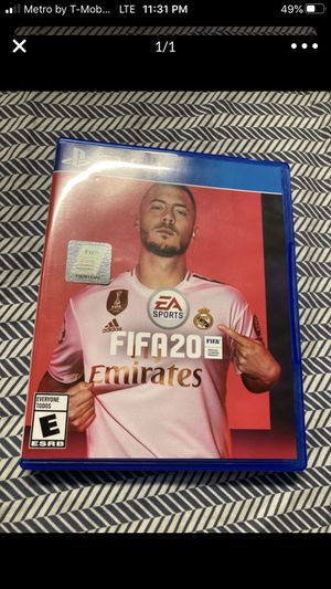 Ps4 PlayStation 4 fifa 20 for Sale in Coral Gables, FL
