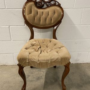 Antique Hand Carved Wooden Chair for Sale in Phoenix, AZ
