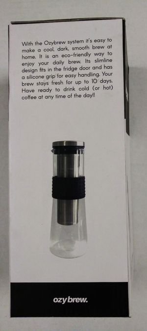 New Ozy Brew 32oz Cold Brew Coffee Maker for Sale in Tampa, FL