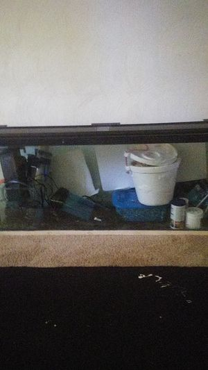75 gallon tank with everything included as is dont know much about other than tank can hold water for Sale in Chesapeake, VA
