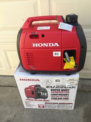 New Honda generator eu2200i inverter in the box for Sale in Cerritos, CA