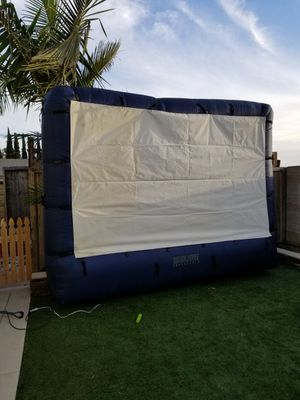 Huge inflatable screen for Sale in Huntington Beach, CA