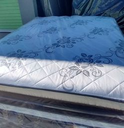 Queen Set Mattress Pillow Top Orthopedic Brand New for Sale in Fontana,  CA