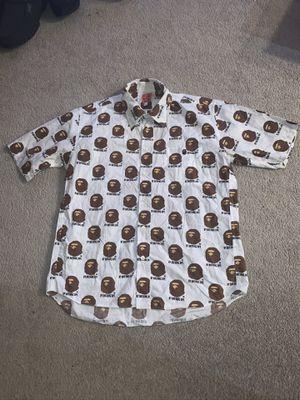 A bathing Ape Bape large vintage shirt for Sale in Portland, OR