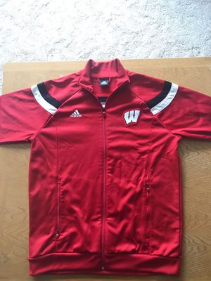 Badgers Adidas Mens Zip-up (XL) for Sale in Hartland, WI