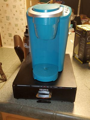Turquoise Keurig and kcup holder for Sale in Leander, TX