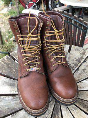 Red Wing work boots for Sale in Fresno, CA