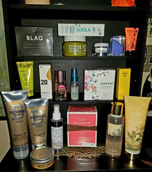 Health and beauty lot! Hair, skin. Body and VS perfume that RV at $58, plus cell charger and more for Sale in Langhorne, PA