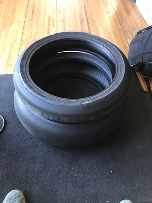 Dunlop slick racing tires for Sale in Diamond Bar, CA