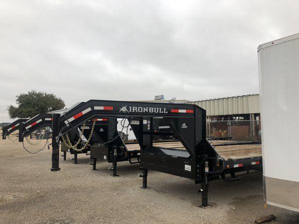 Gooseneck trailer 102x28