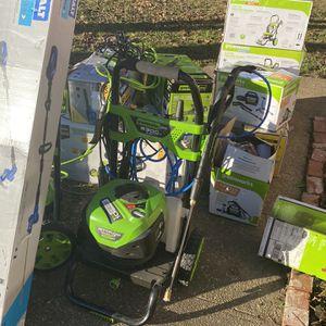 Greenworks pro Outdoor Power Equipment for Sale in Montgomery, AL