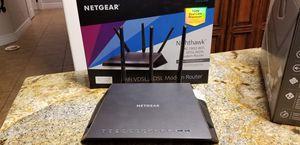 Netgear Nighthawk ac1900 Modem Router for Sale in Peoria, AZ