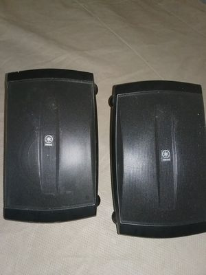 Yamaha outdoors speakers for Sale in Plattsburgh, NY